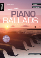 Emotional Piano Ballads, m. Audio-CD