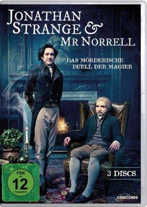 Jonathan Strange & Mr. Norrell, 3 DVDs
