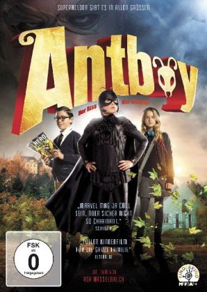 Antboy - Die Rache der Red Fury, 1 DVD