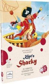 Käpt'n Sharky und das Geheimnis der Schatzinsel, 1 DVD Cover