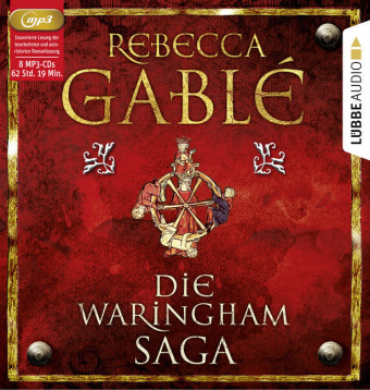 Die Waringham-Saga, 8 MP3-CDs