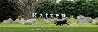 Literarischer Tischkalender Katzen 2017