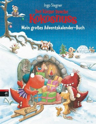 Der kleine Drache Kokosnuss - Mein gro�es Adventskalender-Buch