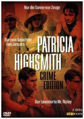 Patricia Highsmith Crime Edition, 3 DVDs