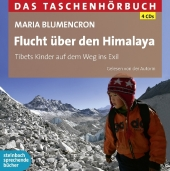 Flucht über den Himalaya, 4 Audio-CDs Cover