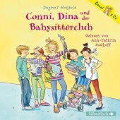 Conni, Dina und der Babysitterclub, 2 Audio-CDs Cover