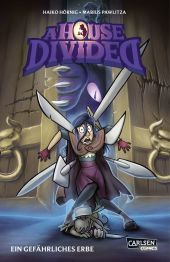 A House Divided - Ein gefährliches Erbe Cover