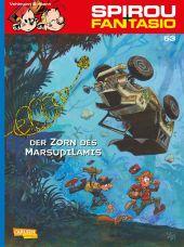 Spirou + Fantasio - Der Zorn des Marsupilamis Cover