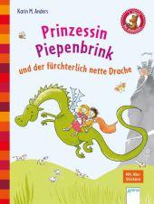 Prinzessin Piepenbrink und der fürchterlich nette Drache Cover