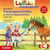 Fohlengeschichten & Einhorngeschichten, 1 Audio-CD Cover