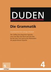 Der Duden Band 4: Die Grammatik