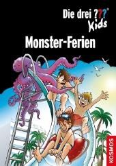 Die drei ??? Kids - Monster-Ferien Cover