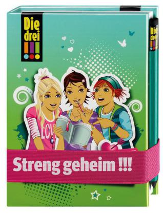 Die drei !!! - Mein Tagebuch, m. Bleistift