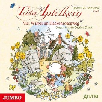 Tilda Apfelkern - Viel Wirbel im Heckenrosenweg, 2 Audio-CDs