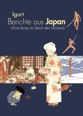 Berichte aus Japan - Eine Reise ins Reich der Zeichen Cover