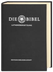 Die Bibel, Lutherübersetzung revidiert 2017, Taschenausgabe schwarz