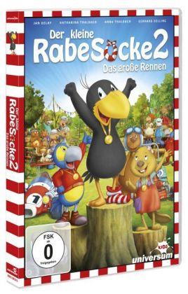 Der kleine Rabe Socke 2 - Das große Rennen, 1 DVD