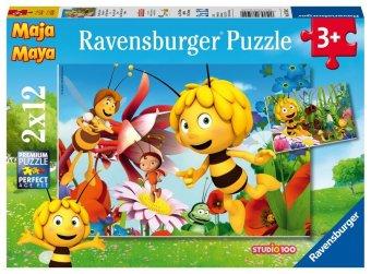 Biene Maja auf der Blumenwiese (Kinderpuzzle)