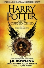 Harry Potter and the Cursed Child, Harry Potter und das verwunschene Kind, englische Ausgabe, Pts.1 + 2