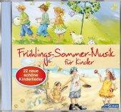 Frühlings-Sommer-Musik für Kinder, 1 Audio-CD Cover