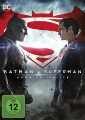Batman V. Superman: Dawn Of Justice, DVD Cover