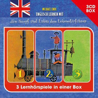 Englisch lernen mit Jim Knopf dem Lokomotivführer, 3 Audio-CDs