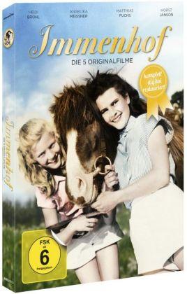 Immenhof - Die 5 Originalfilme, 3 DVDs (Komplettbox Remastered)