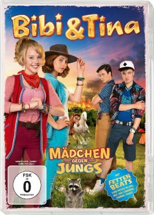 Bibi & Tina - Mädchen gegen Jungs, 1 DVD