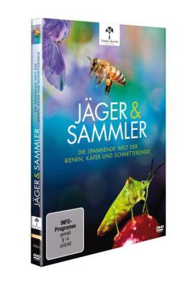Jäger & Sammler - Die spannende Welt der Bienen, Käfer und Schmetterlinge, 1 DVD