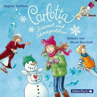 Carlotta, Internat und Schneegestöber, 2 Audio-CDs