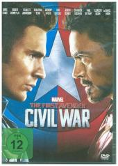 The First Avenger: Civil War, 1 DVD
