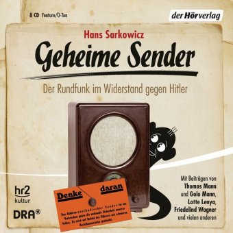 Geheime Sender, 8 Audio-CDs