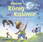 Kleiner König Kasimir und andere quicklebendige Tanzlieder, 1 Audio-CD Cover