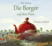 Die Borger auf dem Fluss, 4 Audio-CDs Cover