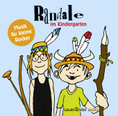 Randale im Kindergarten, 1 Audio-CD Cover