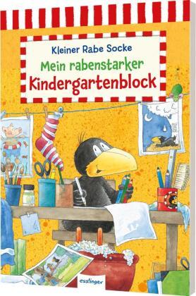 Der kleine Rabe Socke - Mein rabenstarker Kindergartenblock