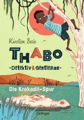 Thabo, Detektiv & Gentleman - Die Krokodil-Spur Cover