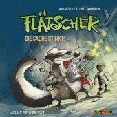 Flätscher - Die Sache stinkt, 1 Audio-CD Cover