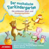 Der musikalische Tierkindergarten, 1 Audio-CD Cover