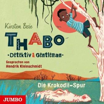 Thabo - Detektiv & Gentleman - Die Krokodil-Spur, 4 Audio-CDs