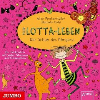 Mein Lotta-Leben - Der Schuh des Känguru, 1 Audio-CD