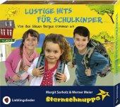 Lustige Hits für Schulkinder, Audio-CD Cover
