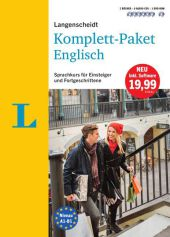 Langenscheidt Komplett-Paket Englisch - Sprachkurs mit 2 Büchern, 6 Audio-CDs, 1 DVD-ROM, MP3-Download