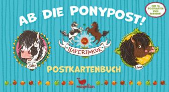 Die Haferhorde - Ab die Ponypost! - Postkartenbuch