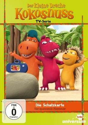 Der kleine Drache Kokosnuss TV Serie - Die Schatzkarte, 1 DVD