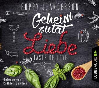 Taste of Love - Geheimzutat Liebe, 4 Audio-CDs