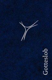 Gotteslob, Ausgabe für die Bistümer Hamburg, Hildesheim, Osnabrück, Taschenausgabe Kunstleder blau