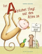 Das Alphabet fängt mit den Affen an Cover