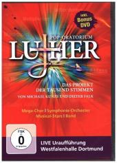 Pop-Oratorium Luther, 2 DVDs