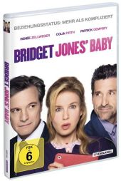 Bridget Jones' Baby, 1 DVD